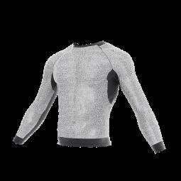 Slash-resistant MTP long sleeve under T-shirt