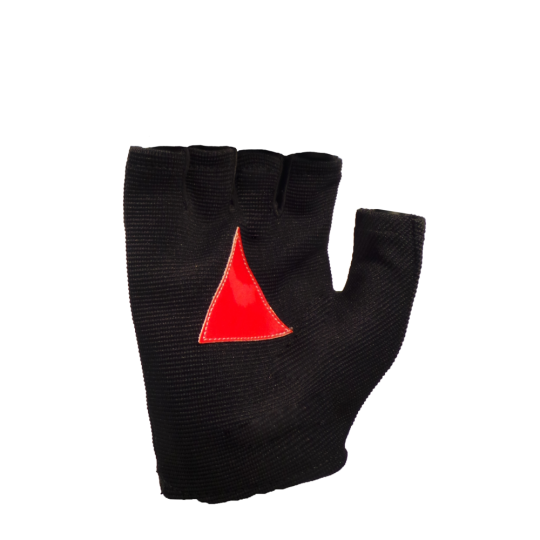 MTP reflective mitt gloves for summer night cyclist (palm)