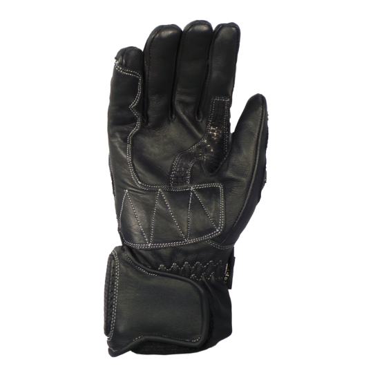 MTP Anti-trauma waterproof leather glove for biker (palm)