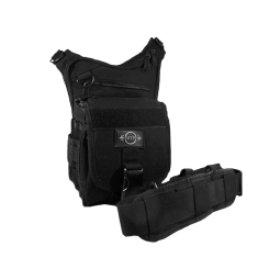 Multi-pocket MTP tactical handbag for concealment of weapon