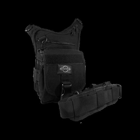 Multi-pocket MTP tactical handbag for concealment of weapon
