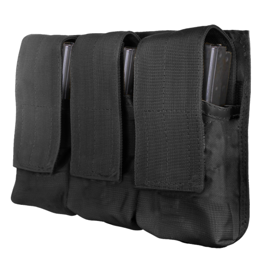 Porta cargador Triple en cordura para cinturón de MTP