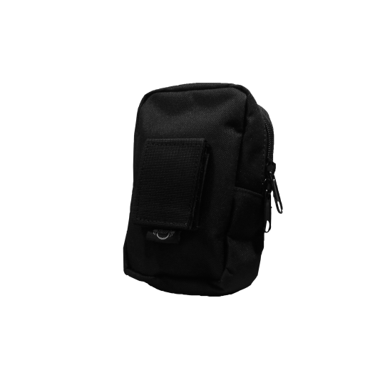 MTP small vertical bag made of Cordura for a tactical belt (back)