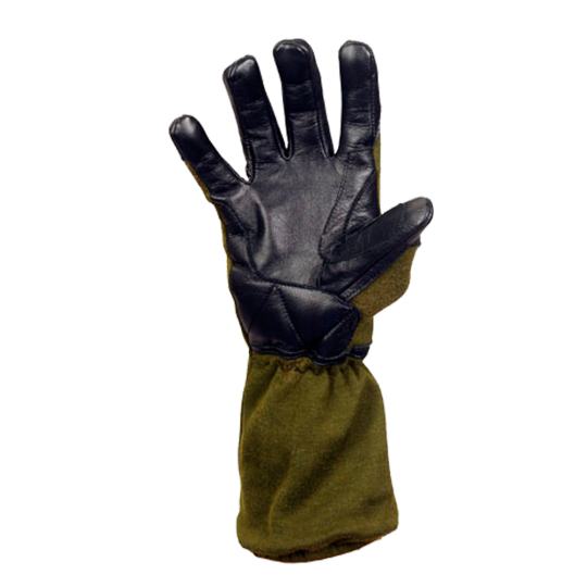 Flame retardant glove MTP for special operations (palm)