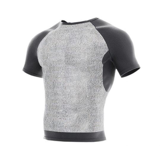 Slash-resistant MTP short sleeve under T-shirt