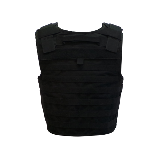 The tactical plate carrier vest with MOLLE system (back)