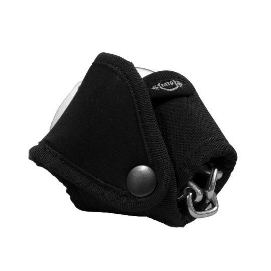 Porta-grillete de cordura para grillete de cadena (espalda)