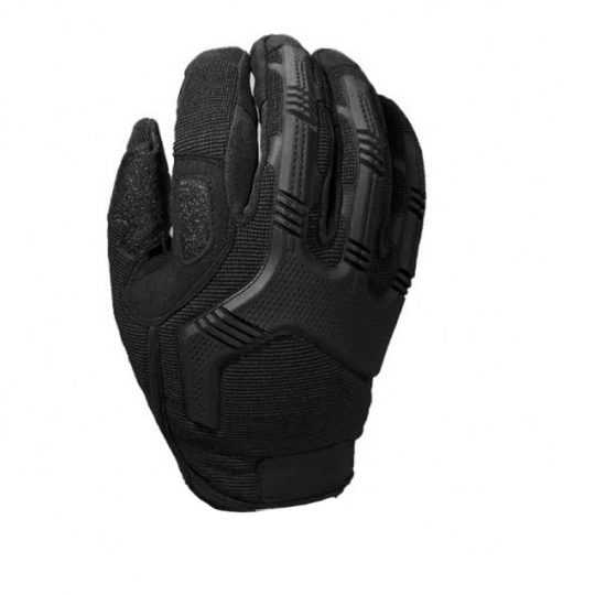 Tactical gloves for airsoft with knuckle protection color black (palm)