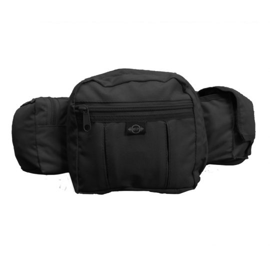 MTP Tactical fanny pack for weapon concealment color black