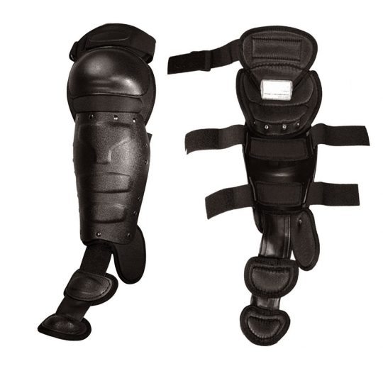 MTP riot shin guards and knee caps for police interventions