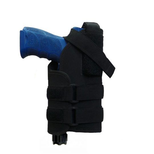 MTP universal holster for a weapon with a flashlight