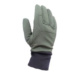MTP waterproof anti-cut glove for winter made with SOFTSHELL